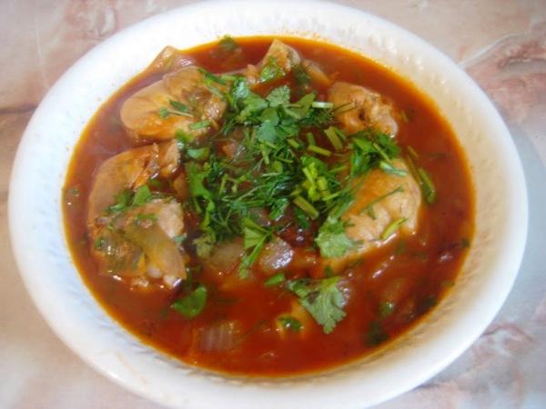 история блюда чахохбили