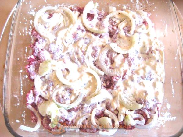 картофель с мясом в духовке рецепт с фото свинина