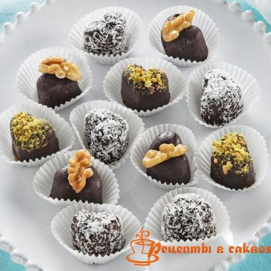 Шоколадные конфеты своими руками рецепты фото 144