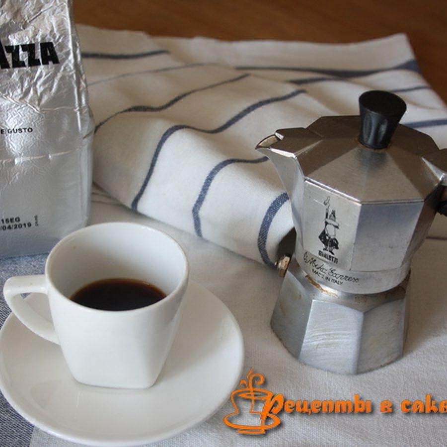 как приготовить кофе ээспрессо