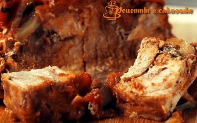 как приготовить мясо свиной лопатки