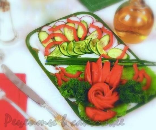 салат летняя фантазия