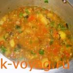 Как приготовить рецепт аджапсандали, блюдо в пост