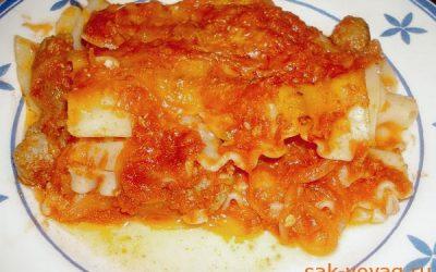 Как приготовить лазанью по-неаполетански