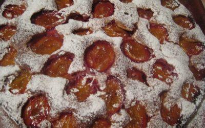 рецепт пирог со сливами