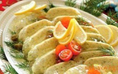 Новогодние рецепты: нежная рыба в желе