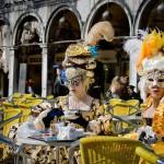 уличное кафе в Венеции
