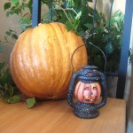 Кексы с тыквой Хэллоуин