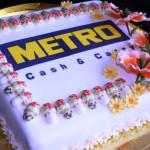 корпоративный торт с лого на заказ