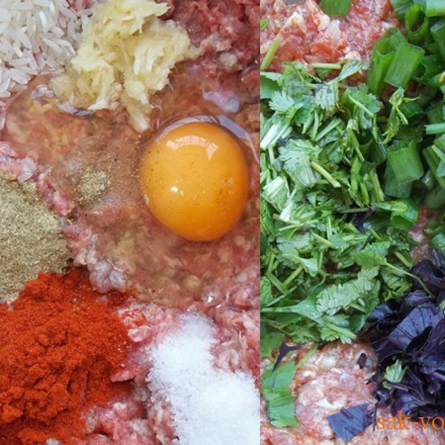 Как приготовить толму из овощей - фаршированные баклажаны, помидоры, перец, пошаговый рецепт с фото