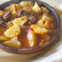 Блюдо грузинской кухни соузи