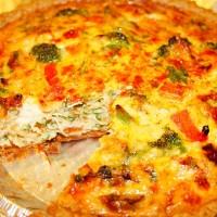 рыбный пирог брокколи