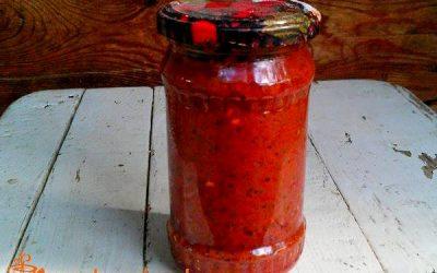рецепт острого соуса аджика из слив